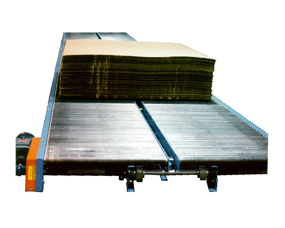 conveyor for wide loads