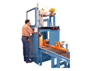 Fume Booth Drum Filler