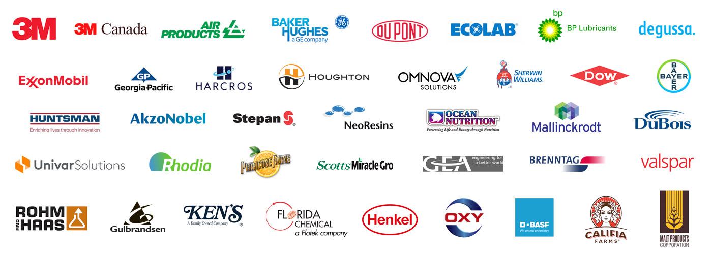 Logo Collage of Industry Leaders We Serve