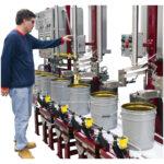 1426 multi lance pail filling system