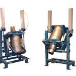 Drum Dumper For Dry Solids