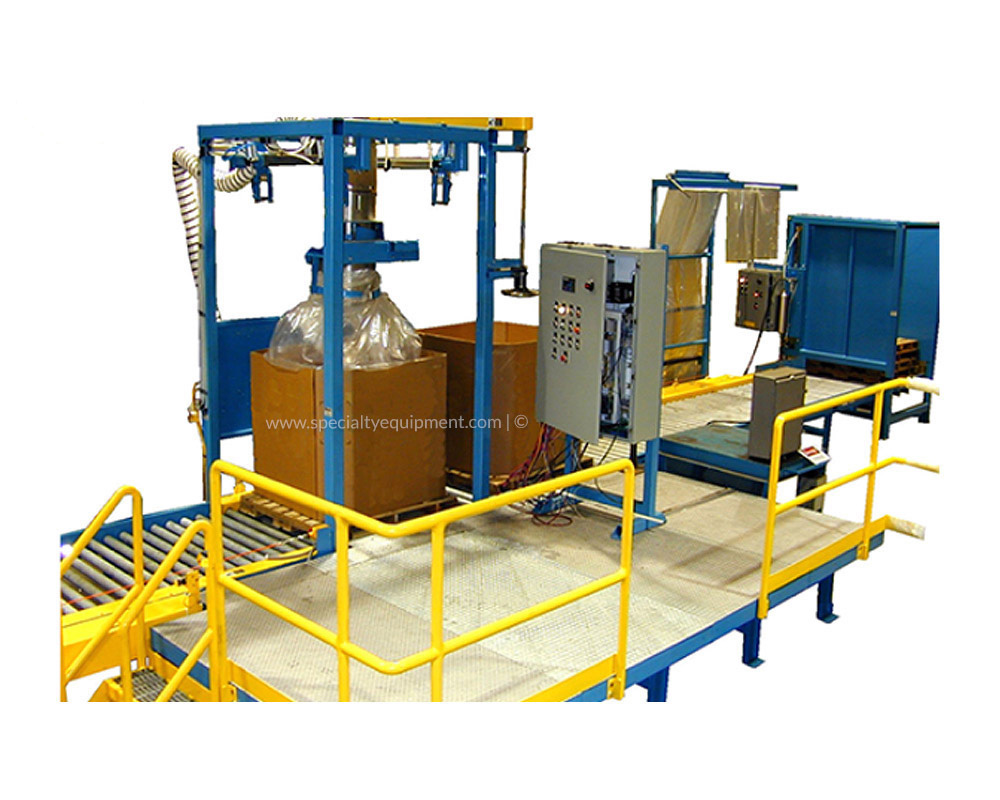 Dry Solids Bag and Box Filling System