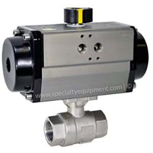 Air Actuators and Ball Valves