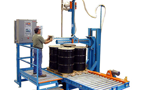 filling machine for tight spaces