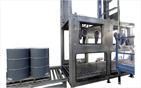 Fume Booth Filler for Drum and Totes